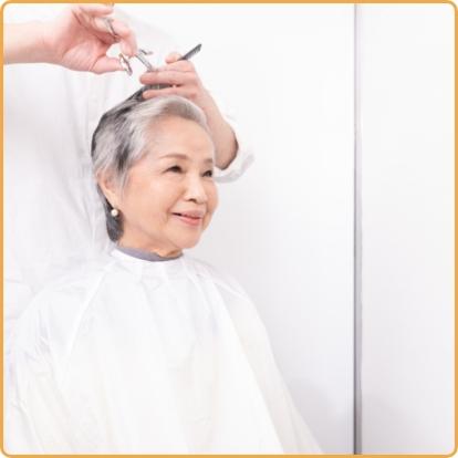 訪問美容サービスのイメージです。